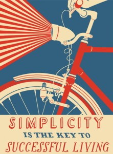 Simplicity poster by Nick Dewar