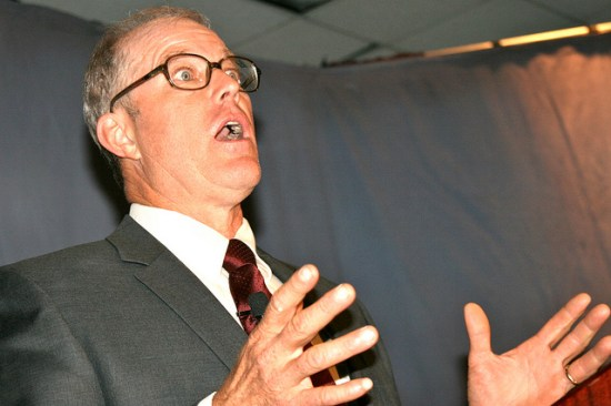 Joel Salatin speaking in 2010