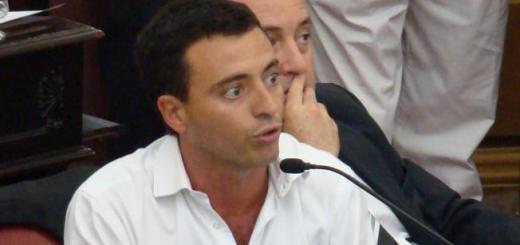 Rodrigo de Loredo en la legislatura provincial (Foto: LaVoz)