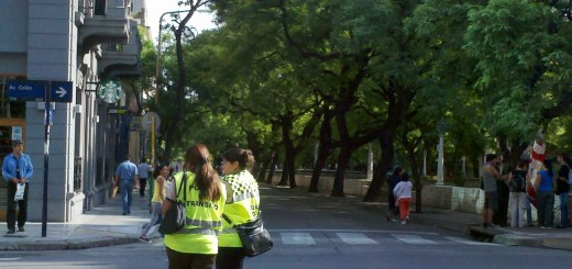 Inspectores de tránsito