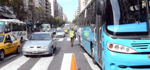 Prueba experimental Solo Bus en calle Chacabuco - Foto Municipalidad de Cordoba - 2