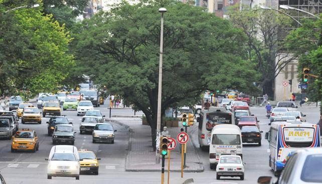 transito calles atos colectivos