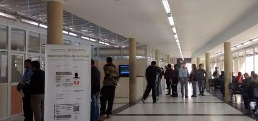 Interior y sala de espera del Centro Municipal de Capacitacion de Transporte y Transito