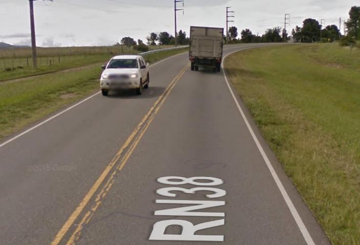 Street View Ruta 38