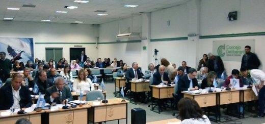 Sesion en el Concejo Deliberante de Cordoba