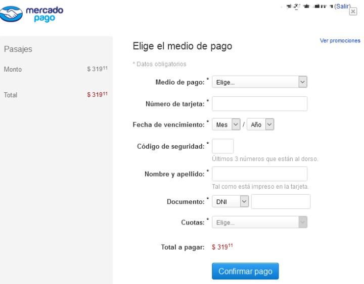 Compra de pasajes por internet para el tren a Retiro - 7