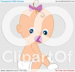 Small Of Baby Girl Cartoon