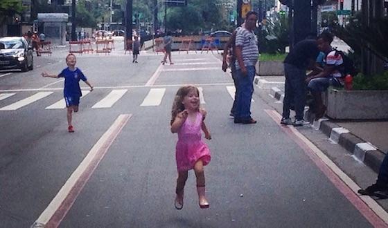 Avenida Paulista - 31 de dezembro de 2014. Foto: Alex