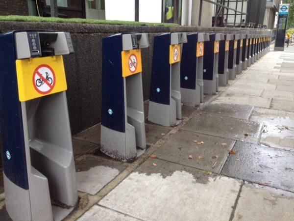 Sistema de bicicleta pública não funcionou durante Londres 2012