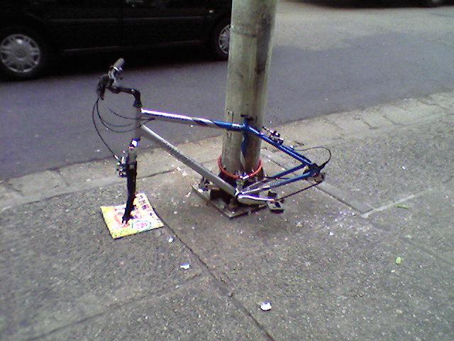 bici bem trancada