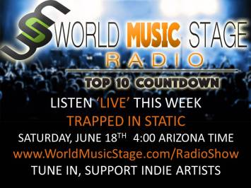 #1 at the weekly Top 10 on World Music Stage Radio