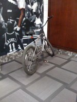 Lou Amundson's bike