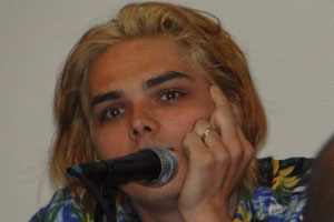 Gerard Way at the 2010 San Diego Comic Con