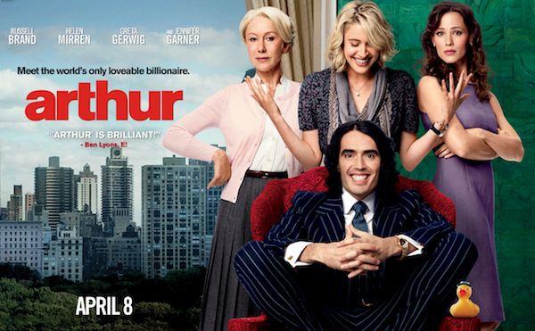 Arthur stars Russell Brand