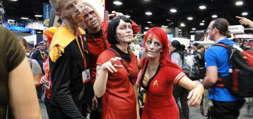 Star Trek Zombies at Comic Con 2012