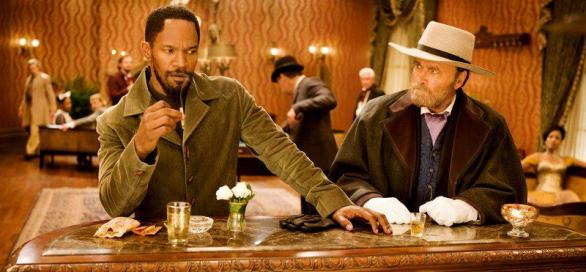 Jamie Foxx as Django in in DJANGO UNCHAINED