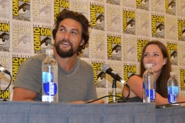 Jason Momoa at Comic Con 2013