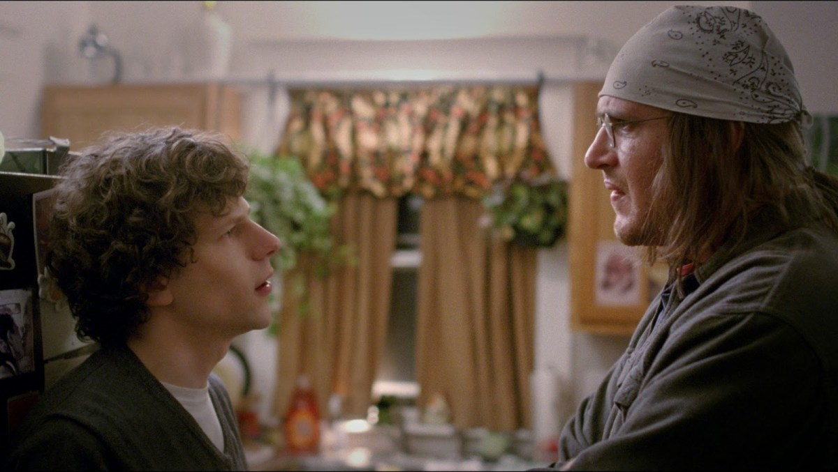 First trailer for 'The End of the Tour' starring Jesse Eisenberg and Jason Segel