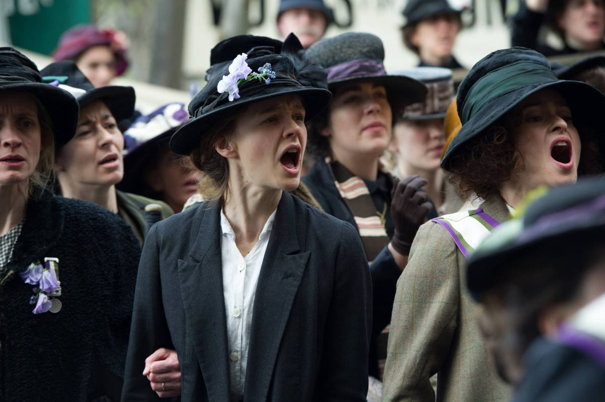 Struggles of 'Suffragette' still relevant today