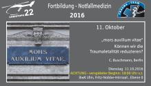 Fortbildung Notfallmedizin Ulm Okt. 2016