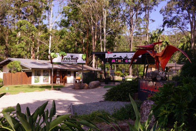 TreeTop Challenge and the Canyon Flyer provide a great day out for all