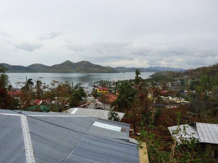 View of Coron Town - Basuanga, Palawan