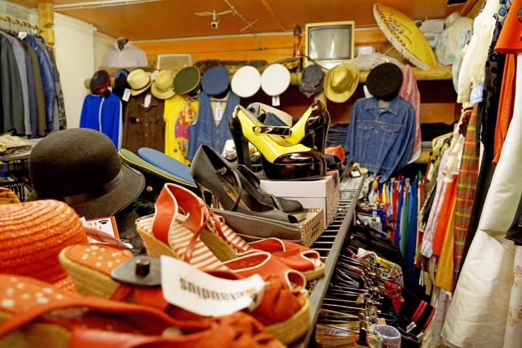 Vintage Shopping in den Arkaden