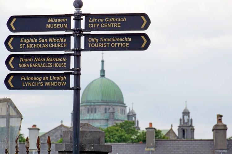 Wege in Galway