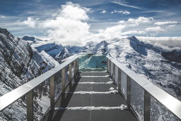 Kitzsteinhorn Walkway Austria Sean Byrne