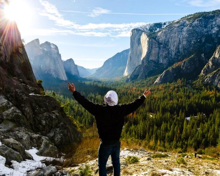 Awestruck Horsetail Fall Yosemite National Park Taylor Gray