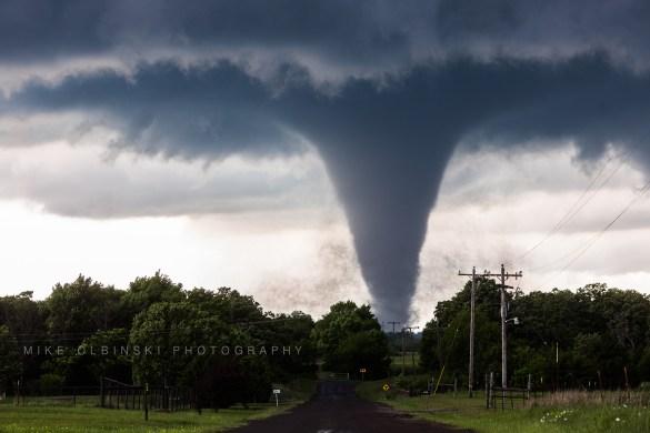 Mike Olbinski Tornado Wynnewood Oklahoma 1