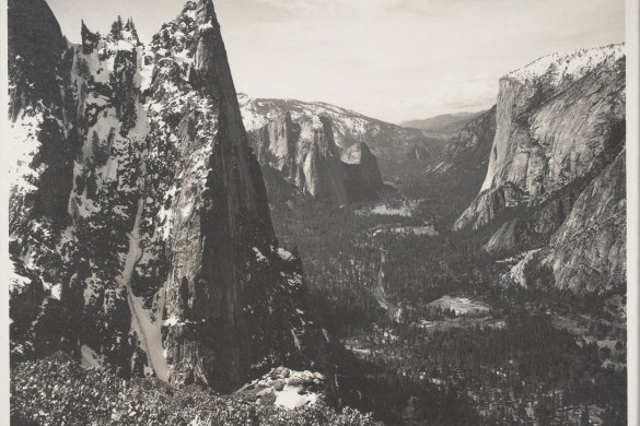 The-Sentinel,-Yosemite-Valley,-ca.-1923