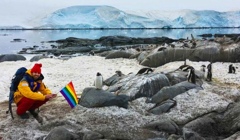 Here's Why Antarctica Is Literally The 'Coolest' Place For The LGBTQ