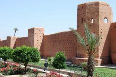 Marrakech - Zidurile Medinei