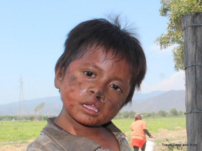 Child Laborer Face of a Child, child labor in Mexico