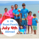 Our US Expat Family Celebrates 4th of July Abroad