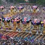 新居浜太鼓祭り2015の日程は10月16,17,18日!見どころは巨大な太鼓台と喧嘩!?