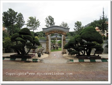 Bonsai Garden Entrance