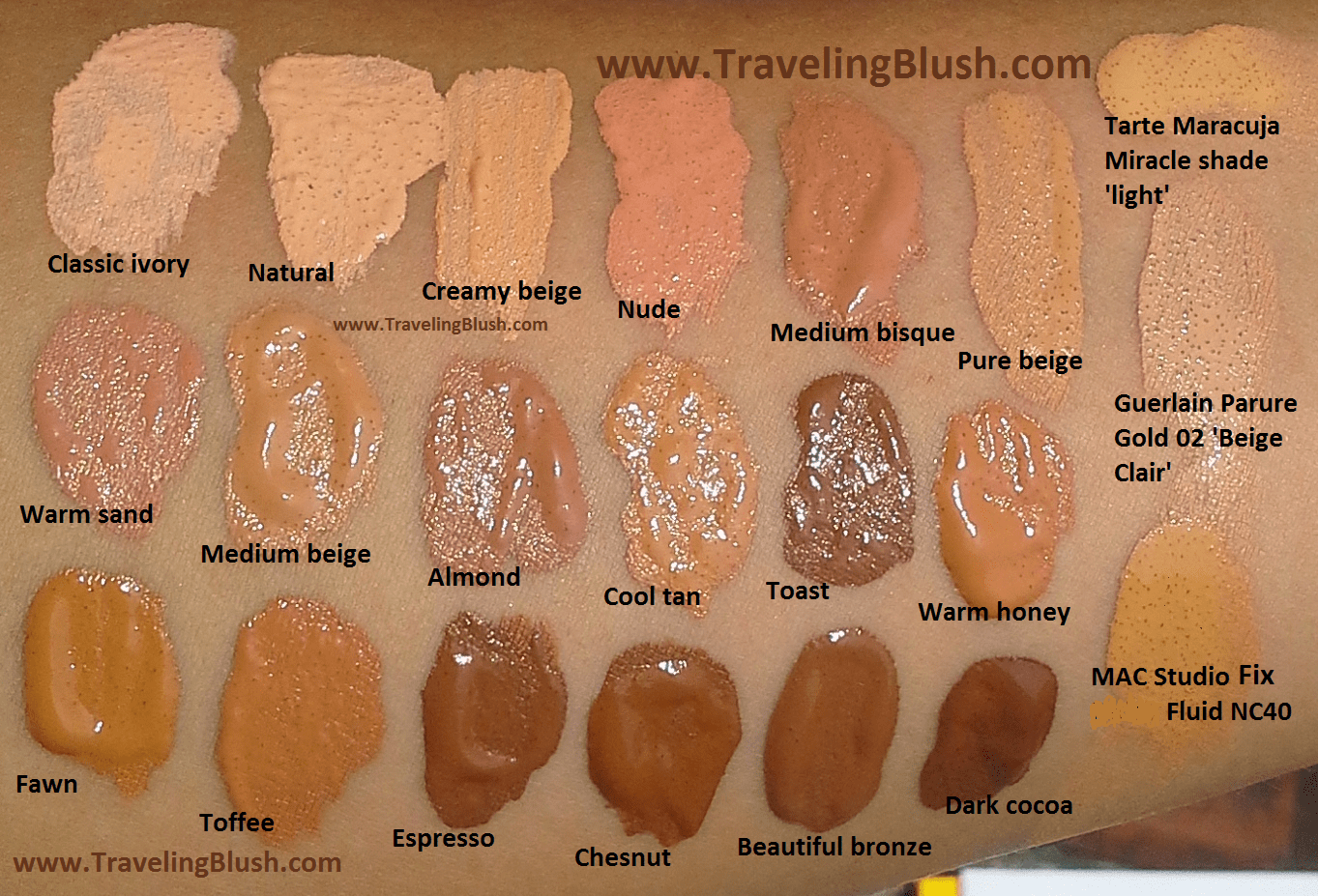 Complete 18 Shades Swatched L A Girl Pro Conceal High