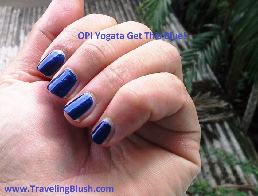 OPI Yogata get this Blue