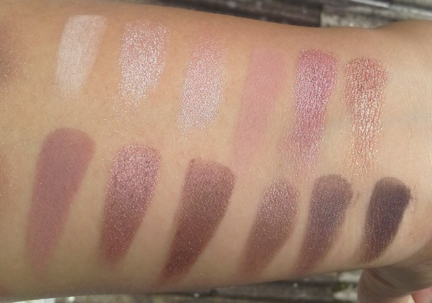 Urban Decay Naked3 swatches2