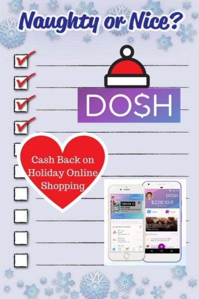 Dosh Offers Cash Back on Holiday Online Shopping - Traveling in Heels