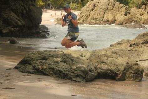 Signature Jumpin' Photograph; Manuel Antonio, Costa Rica; 2013