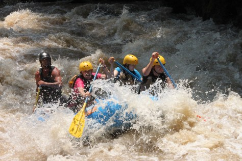Class V Rapids; Costa Rica; 2013