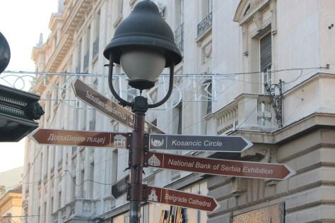 Street Sign; Belgrade, Serbia; 2011