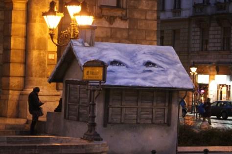 Creative Christmas Market; Budapest, Hungary; 2011
