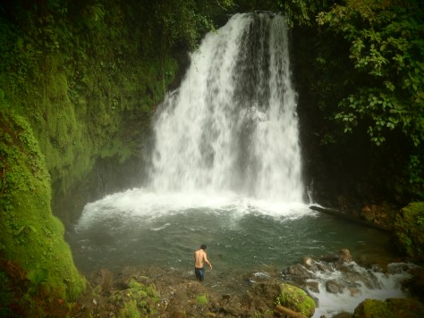 Waterfalll; Volcan Arenal, Costa Rica; 2013