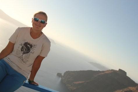 Creative Sunset; Santorini Island, Greece; 2013