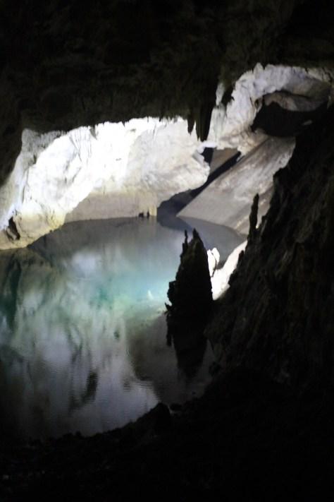 Lake in the Cave; Matka, Republic of Macedonia; 2013