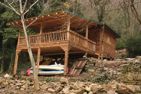 Mate's House on the Lake; Matka, Republic of Macedonia; 2013